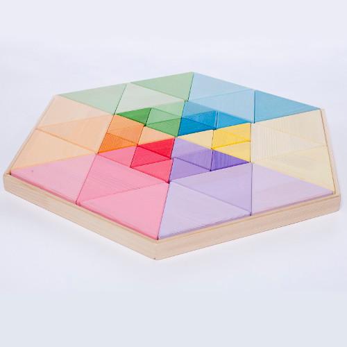 Stavebnice Ela s trojúhelníky