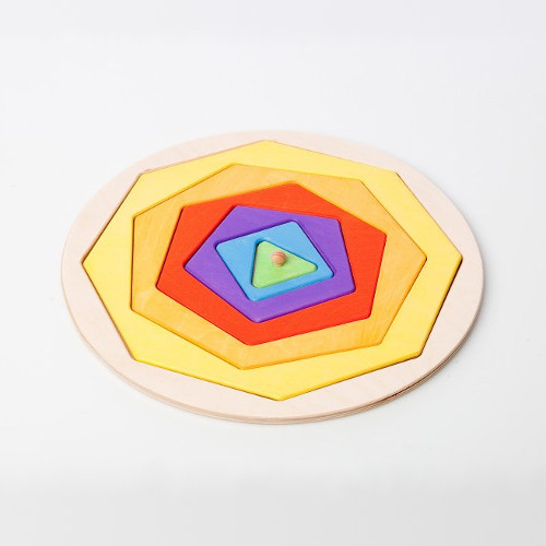 Vkládací puzzle Kruhelník