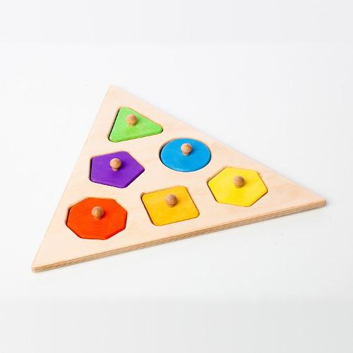 Vkládací puzzle Poznej tvary