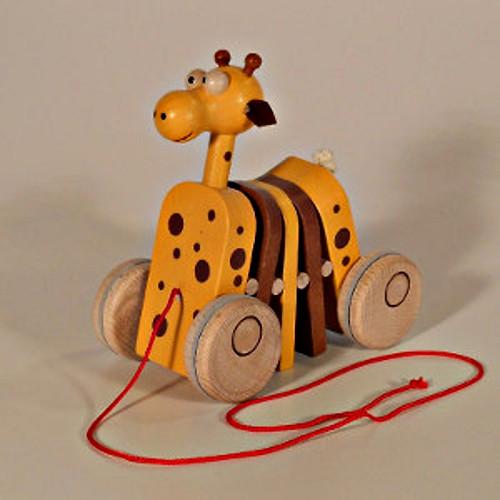 Klapací hračka Žirafa