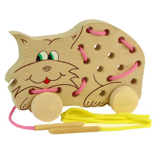 Prošívací kočička na kolečkách