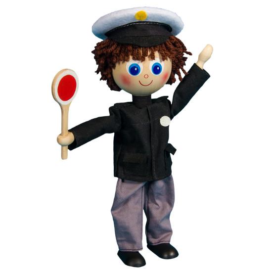Ohebná figurka Policista