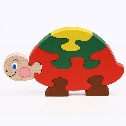 Puzzle (skládačka) Želvička